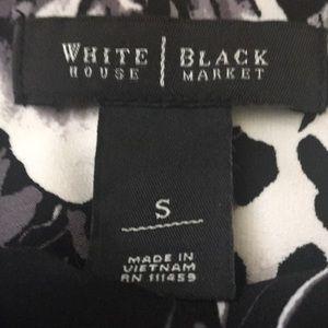 White house black market size sm 3/4  sleeve dress